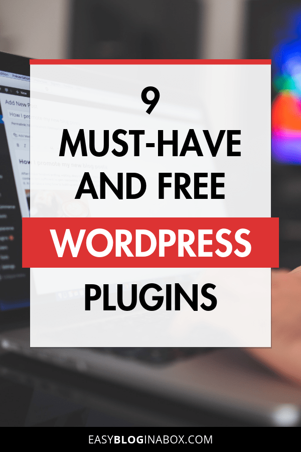 9 must-have and free wordpress plugins-PIN 1