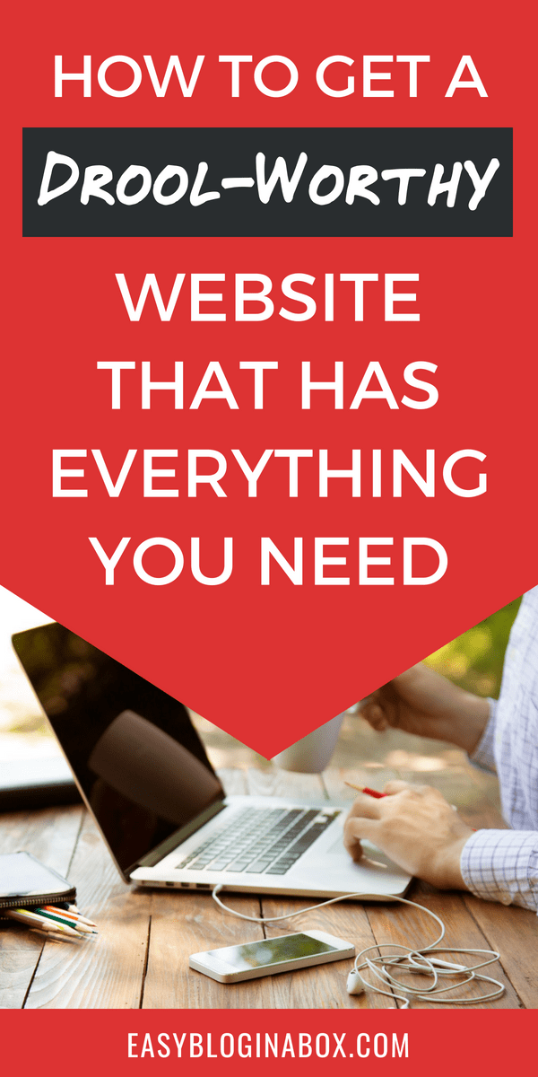 How to get a drool worthy wordpress website that has everything you need
