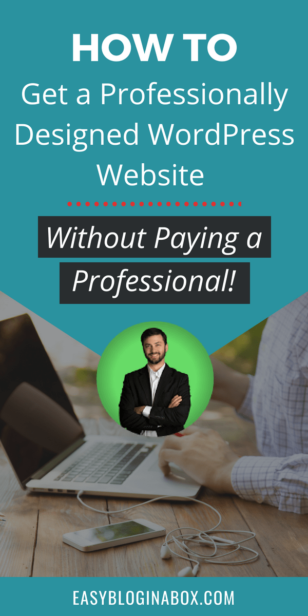 How to get a professionally designed website without paying a professional