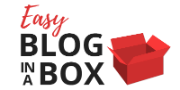 Easy Blog in a Box